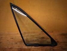 Mazda MX-5 Miata Right Side Door Quarter Vent Window Glass & Rubber Seal 90-05