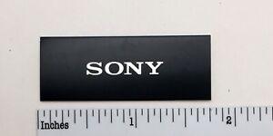 Sony Turntable Badge Logo For Dust Cover Metal Custom Made