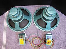 Pair of Vintage Altec 605A Full-Range Speakers w/ Original Crossovers
