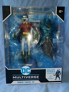 McFarlane Toys DC Multiverse Robin Earth-22 Robin Crow MIB Dark Knight's MIB