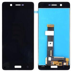 BLACK LCD Panel Screen Digitizer Full Complete For Nokia 5 TA-1024 TA-1027
