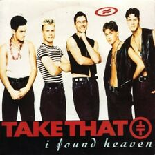 "TAKE THAT i found heaven 7"" PS EX/VG uk rca 10814 7"