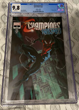 CHAMPIONS #1 Walmart Exclusive Variant CGC 9.8 Outlawed Miles Morales 2020