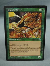 MTG Magic the Gathering Card X1: Muscle Sliver - Tempest EX/NM