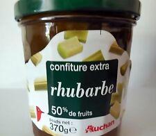 Rhabarber Konfitüre Marmelade 370g 50% Frucht orig. aus Frankreich