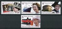 Tristan da Cunha 2015 MNH Queen Elizabeth II Longest Reign 4v Set Royalty Stamps