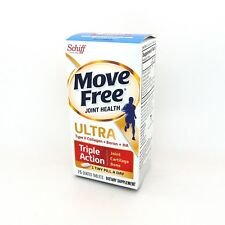 75 Tablets Schiff Move Free Ultra Joints Cartilage Bone Support Glucosamine
