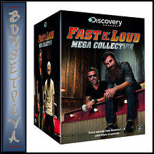 FAST N' LOUD - MEGA COLLECTION - SEASONS 1 2 3 & 4   *BRAND NEW DVD BOXSET***