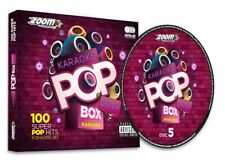 Zoom Karaoke Pop Box 2019 A Year In Karaoke, CDG 5 Pack Box Set 100 Songs