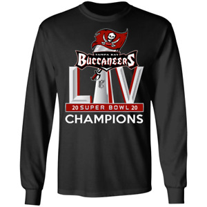 New Super Bowl LV Tampa Bay Buccaneers Champion Gift Long Sleeve T-Shirt