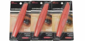 3X Covergirl Lash Blast Active Mascaras 24HR Volume in Very Black/Black 805, 800