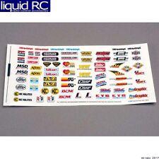 Traxxas 2514 Decal sheet racing sponsors
