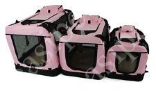 Équipements de transport rose pour chien