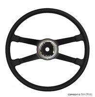 VDM Steering Wheel, Leather, (400mm), Porsche 911/912 (69-73),901.347.081.10
