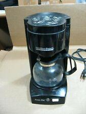 Hamilton Beach 4 Cup Commercial Coffee Maker Aroma ElIte D40202-Black 550Watts