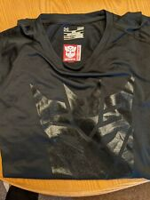 Under Armour Heat gear Loose Lg Tranformers black t shirt with tags