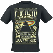 Pink Floyd Dark Side Of The Moon - Live On Stage 1972 Männer T-Shirt schwarz