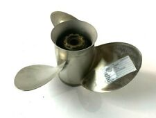 Quicksilver Mercury Outboard Stainless Steel Prop 48-72764 A5 17P PROPELLER