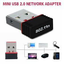 Mini USB 2.0 802.11n 150Mbps WiFi Netzwerkadapter for Windows Linux PC Computer