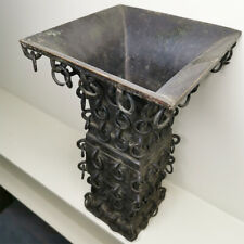 Antique Chinese Archaic Bronze 100 Loop Vase Qing Dynasty Asian Decorative
