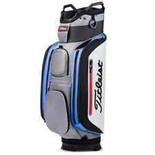 New 2018 Titleist Golf Club 14 Cart Bag TB8CT6-204 Silver Black Golf Bag