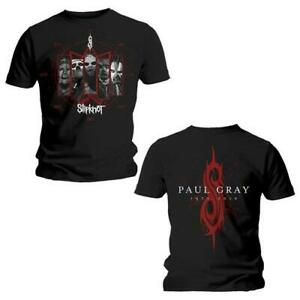 ** Slipknot Paul Gray Memorial T-shirt Official **