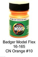 Badger Model Flex 16-165 CN Canadian National Orange # 10 1 oz Acrylic Paint