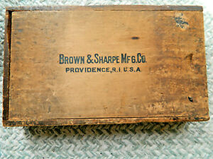 Brown & Sharpe 840 Caliper Combination Set  Inside Outside Dividers 10 Flat Leg
