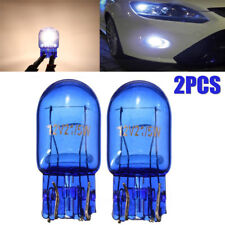 W21/5W T20 580 Dual Filament DRL Sidelight 7443 Super White HID Effect Bulbs