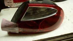 Passenger Right Tail Light Chrome Bezel Fits 98-03 XJ8 174356