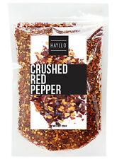 Hayllo Sun Dried Crushed Red Chili Pepper Flakes 8 oz