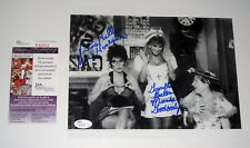 Hee Haw Ladies Victoria Hallman and Gunilla Hutton SEXY Dual Signed 8x10 JSA
