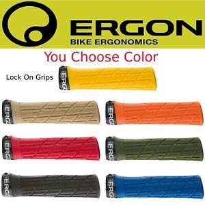 Ergon GE1 Evo Grips Lock-on Euro MTB Enduro Hybrid Bike Assorted Colors
