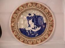 ANTIQUE RARE ROYAL DOULTON CHARLES NOKE c1910 MONKS SERIESWARE CERAMIC PLATE
