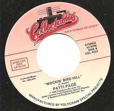 "PATTI PAGE - Mockin' Bird Hill 7"" 45"