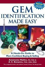 Gem Identification Made Easy~Hands-On Guide to Confident Buying & Selling~NEW HC