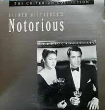Notorious: Alfred Hitchcock's: Criterion #100 (1946) [NTSC] [CC1203L] laserdisc