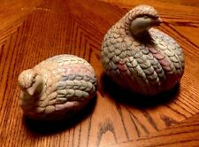 Set of 2 ANDREA BY SADEK porcelain QUAIL FIGURINES Made in China