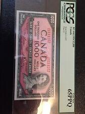 Bank of Canada $1000 BC-44d Gem New 65PPQ, 1954