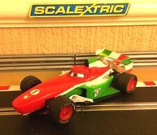 Scalextric Disney Pixar Francesco Bernoulli No1 C3187, Onorato & NUOVO Trecce