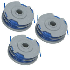 Double Twin Line & Spool for FLYMO POWER TRIM 300 500 700 Trimmer Strimmer x 3
