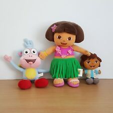 Dora Diego & Boots Soft Plush Toys Characters Stuffed Kids Toys
