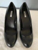 Womens Black ~High Heel Dress Shoes Size 9-1/2 NEW