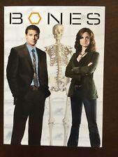 Bones - Season 1 (DVD, 2009, 4-Disc Set, Dual Side)