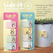 Girl Notepad Memo Sticky Removable 4 In 1 Paper Stationery Adhesive Pads Notes
