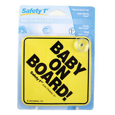 Schild Baby on Board Autoschild mit Saugnapf Safety 1st