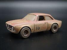 1965-1969 ALFA ROMEO GIULIA SPRINT GTA BARN FIND 1:64 SCALE DIECAST MODEL CAR