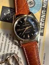 1950s Vintage Eterna Matic Automatic Mens Chronometer Watch Gold/steel