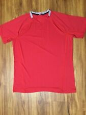 Lululemon Men's Red Short Sleeved Athletic Tee Shirt, size XL