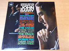 John Barry & His Orchestra/The Great Movie Sounds/1966 CBS Stereo LP